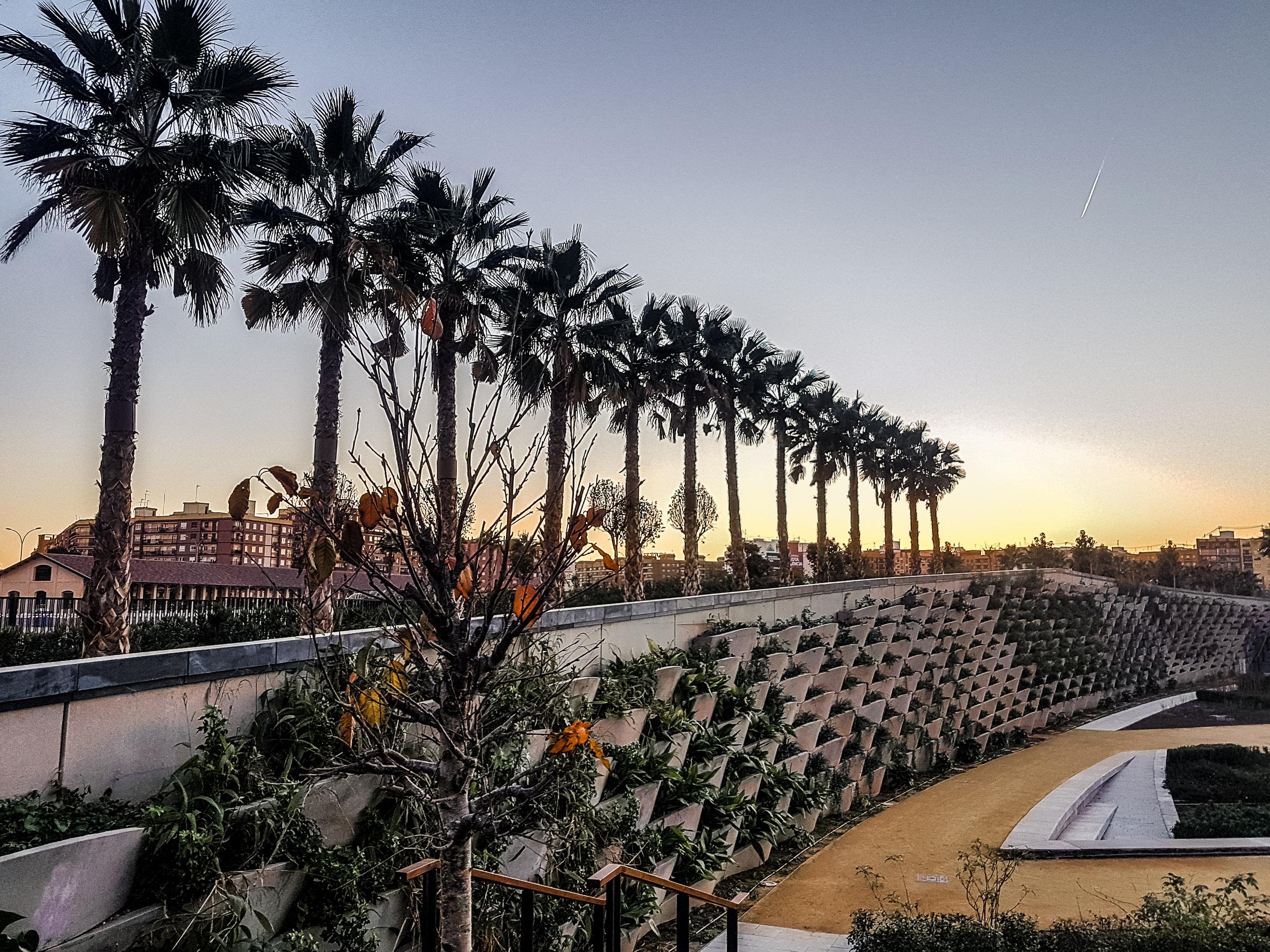 Naturpark in Valencia