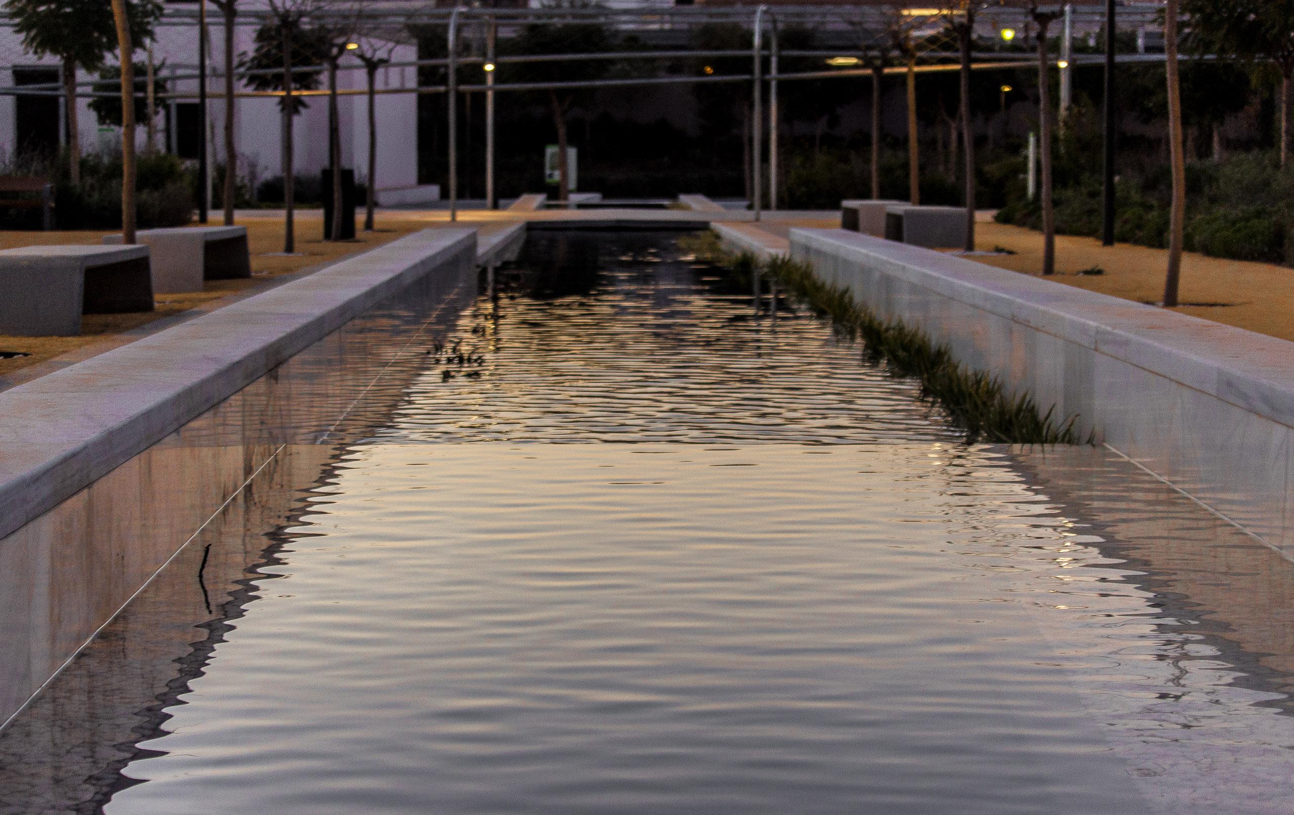 Ein weiterer Blick auf die Wasserbahn